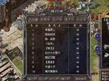传奇私服版本中玩家得到装备的几大方法