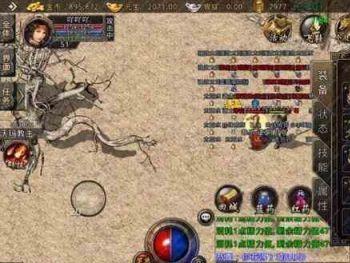 传奇金币里战士与法师战斗