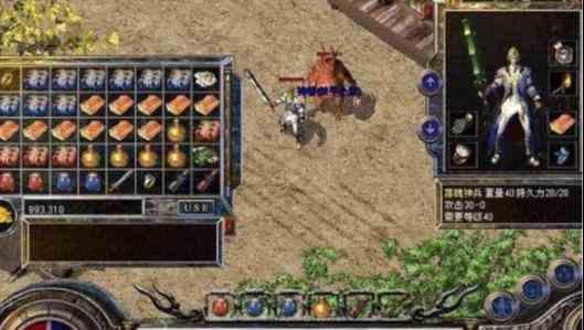单职业传奇手游的资深玩家谈狐月神殿的打法